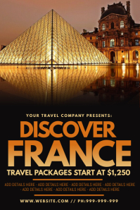 Discover France Poster