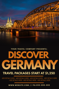 Discover Germany Poster