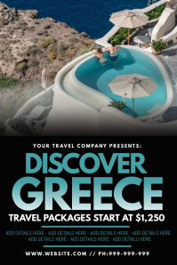 Discover Greece Poster