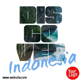 Discover Indonesia Travel Square Video Ad