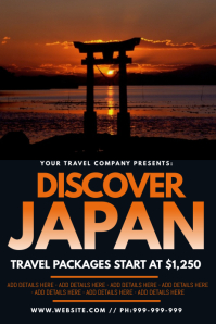 Discover Japan Poster