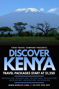 Discover Kenya Poster