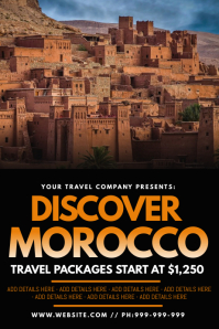 Discover Morocco Poster