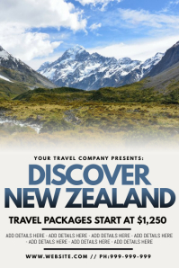 Discover New Zealand Poster