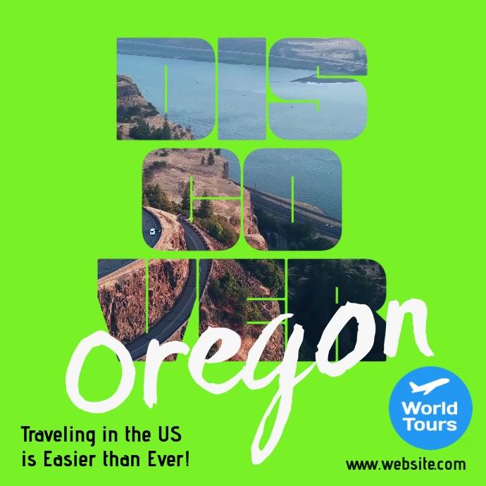 Discover Oregon US Travel Square Video