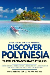 Discover Polynesia Poster