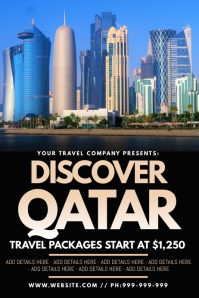 Discover Qatar Poster