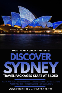 Discover Sydney Poster