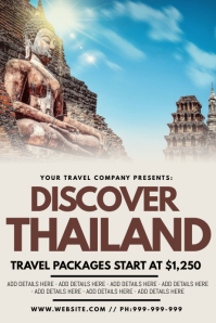 Discover Thailand Poster