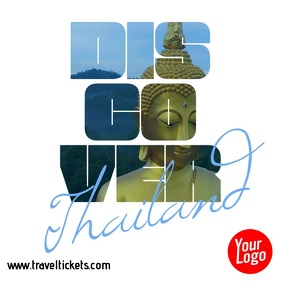 Discover Thailand Travel Square Video Ad