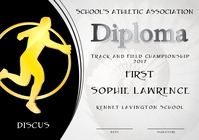 discus diploma first