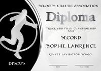 discus diploma second