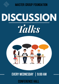 discussion flyer