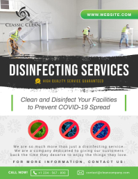 Disinfecting Services Business Flyer