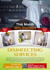DISINFECTION A4 template