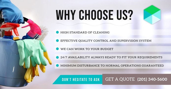 Disinfective Service Business Facebook Ad