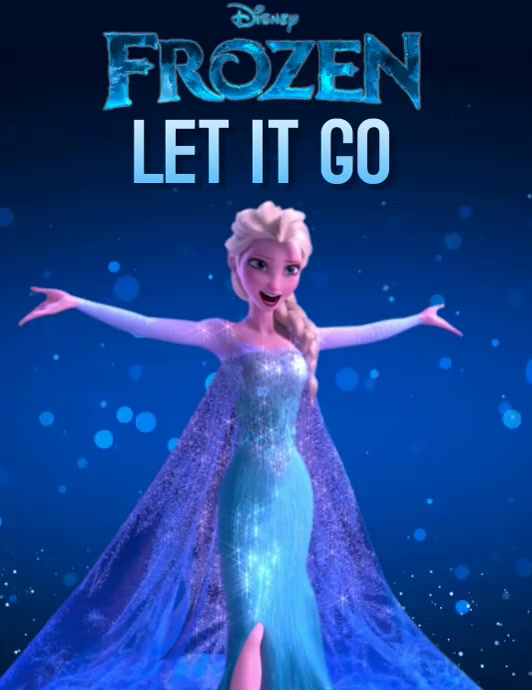 DISNEY FROZEN TWO 2 DIGITAL VIDEO TEMPLATE