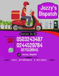 Dispatch Flyer (US Letter) template