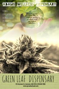 Dispensary Marijuana Poster