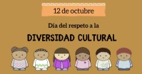 diversidad cultural Facebook Shared Image template