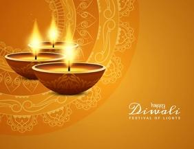 Diwali, Happy Diwali Folder (US Letter) template