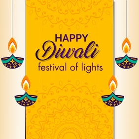 diwali, holi, happy diwali Message Instagram template