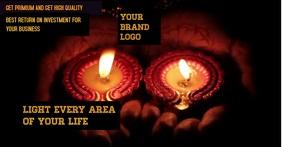 Diwali 2019 Facebook Gedeelde Prent template