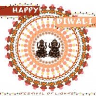 Diwali Instagram Post template