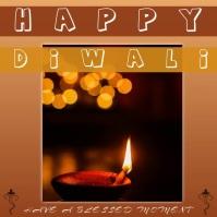 Diwali 2020 Сообщение Instagram template