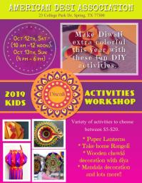 Diwali Activities Poster