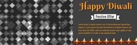 Diwali Banner Template Ibhana 2' × 6'