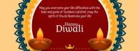 Diwali Fotografia de capa do Facebook template