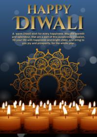 Diwali A4 template