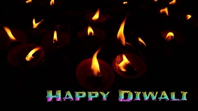 diwali Digital Display (16:9) template