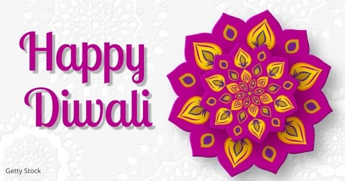 diwali Image partagée Facebook template