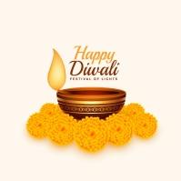Diwali Publicação no Instagram template