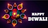 Diwali Cartellino template
