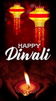 Diwali Instagram Story template