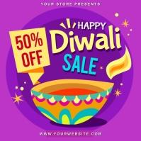 Diwali Message Instagram template