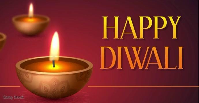 diwali Facebook-Anzeige template