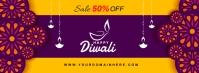 DIWALI Facebook-coverfoto template