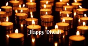 Diwali auf Facebook geteiltes Bild template