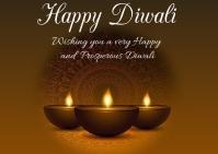 Diwali Briefkaart template