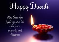 Diwali Postkarte template