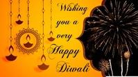 Diwali Facebook Cover Video (16:9) template