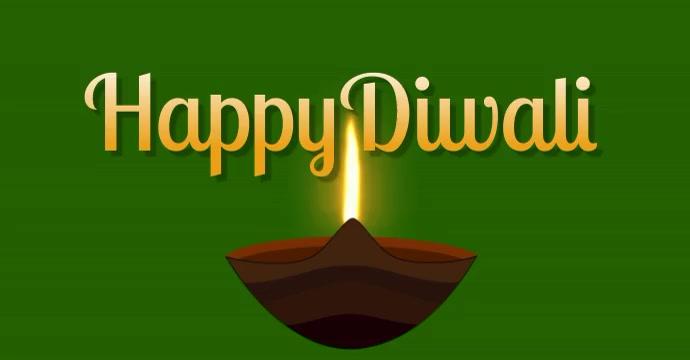 diwali โฆษณา Facebook template