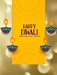 Diwali Flyer (US-Letter) template
