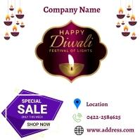 Diwali Post Instagram template