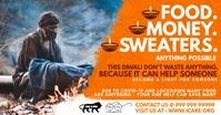 Diwali Donation in Covid-19 Template Imagen Compartida en Facebook