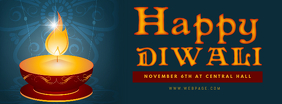 Diwali facebook cover event template